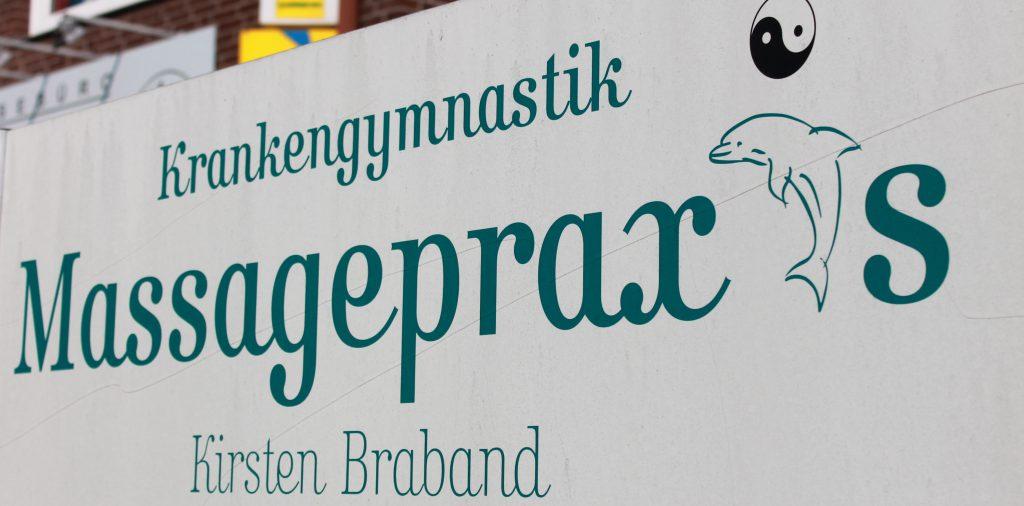 Straßenschild Kirsten Braband